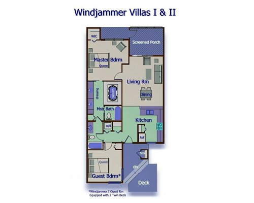 Fairfield Harbour/Windjammer Villas II