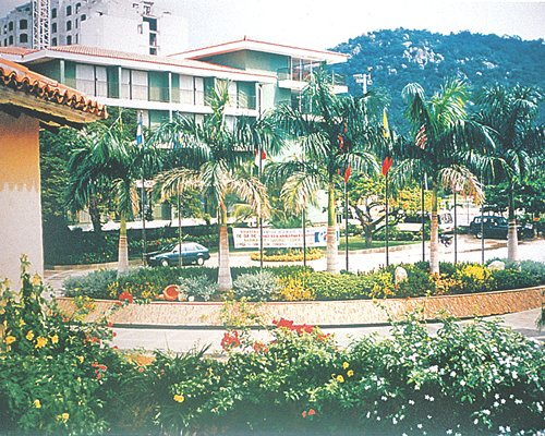Scenic exterior view of Santamar Club & Convention Center resort.