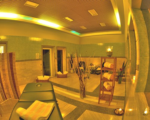 A spa at Carpediem Roma Golf Club.