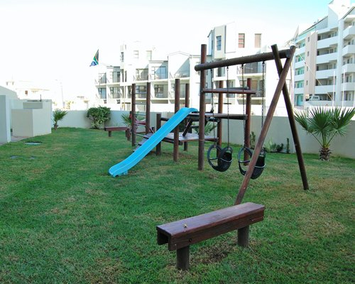 Outdoor kids playground.