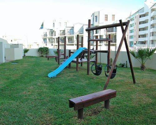 Outdoor kids playground.