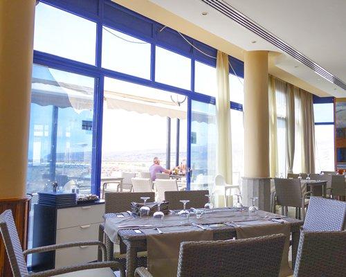 Restaurant at Holiday Club Vista Amadores.