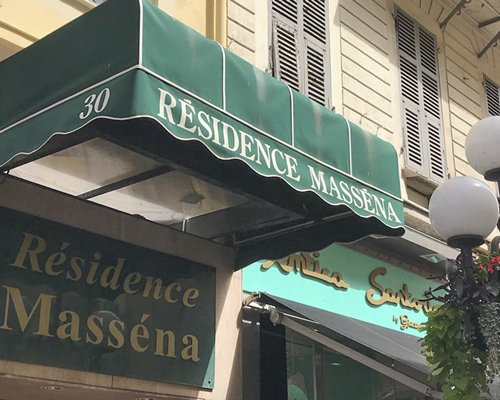 A street view of the Residence Massena.