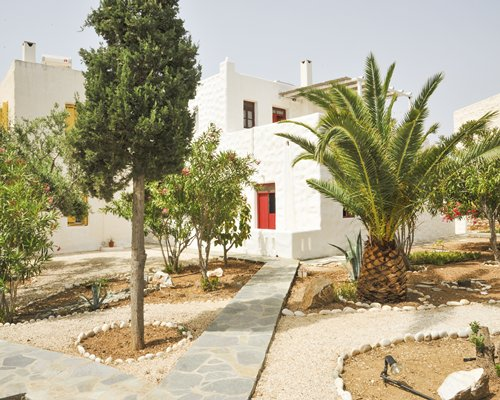 Scenic exterior view and pathway to Anezina Village.