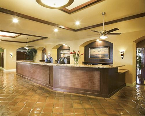 The reception area of Palm Beach Shores Resort And Vacation Villas.