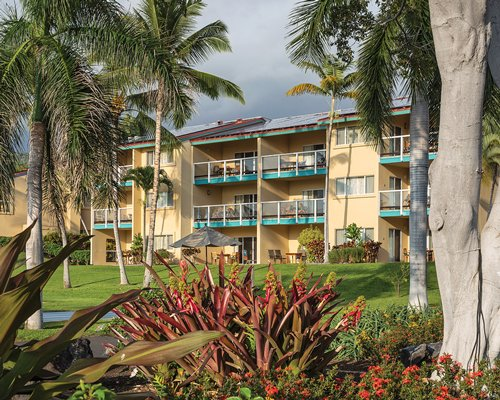 Scenic exterior view of the Kona Coast Resort II.