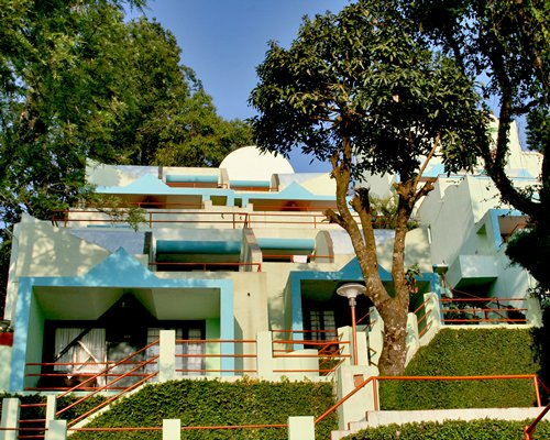 An exterior view of Sterling Yercaud resort.