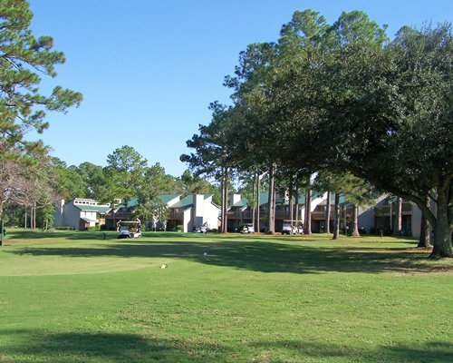View of golf course at The Villas of Hickory Hill.