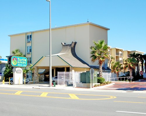 A street view of the Turtle Inn resort.