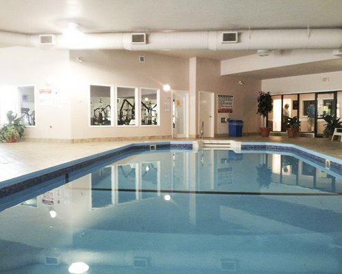 A view of indoor swimming pool.