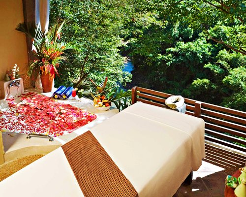 The spa area at Bali Masari Villas and Spa.