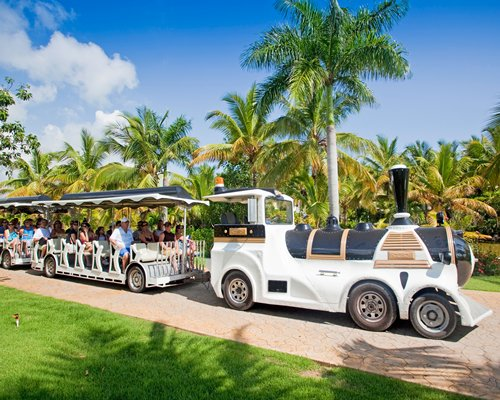 A resort train.