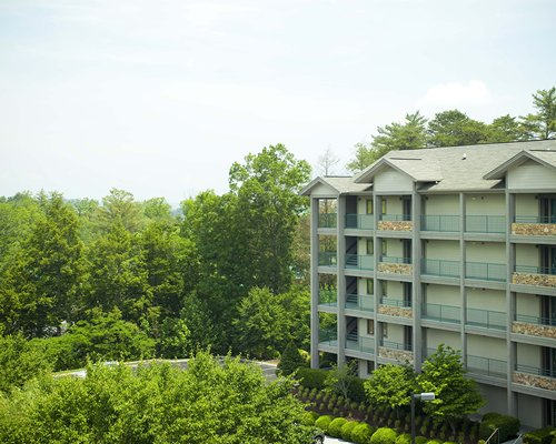 Scenic exterior view of Laurel Crest resort.