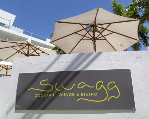 Signboard of Swagg Cocktail Lounge And Bistro.