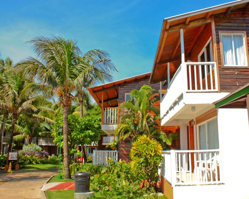 Scenic exterior view of Hotel Decameron San Luis.