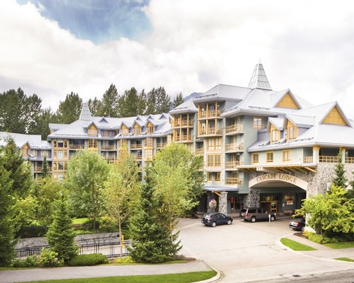 Street view of WorldMark Whistler Cascade Lodge.