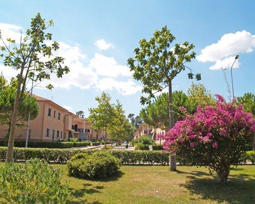 Scenic exterior view of the Eurovillage Club Nausicaa resort.