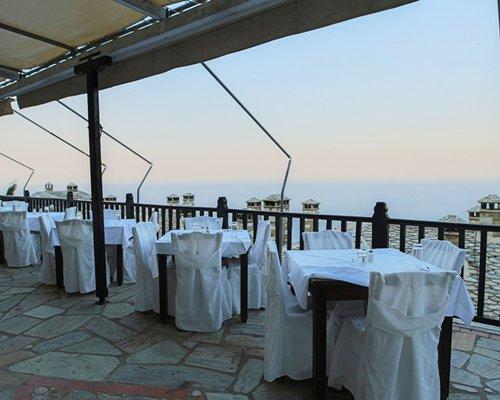 Restaurant at Pilio Holiday Club.