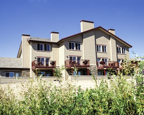 Exterior view of of a unit at WorldMark Bear Lake.