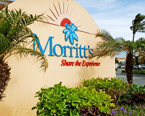 Signboard of Morritt's Grand Resort.