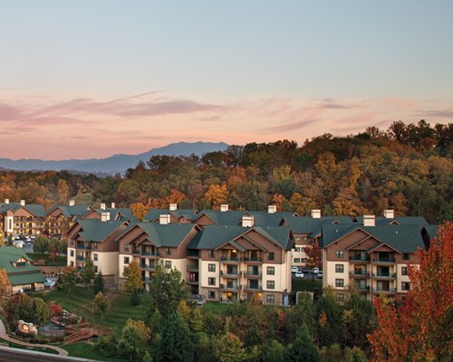 Scenic exterior view of the Wyndham Smoky Mountains.