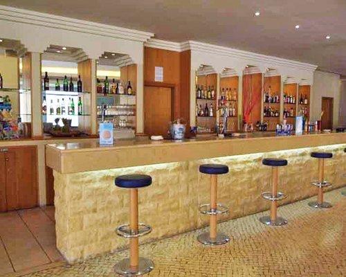 A convenient indoor bar.