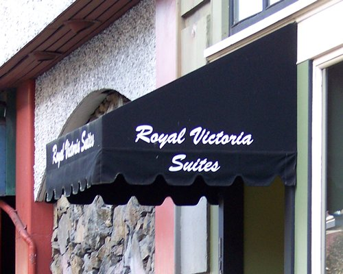 Entrance to the Royal Victoria Suites.