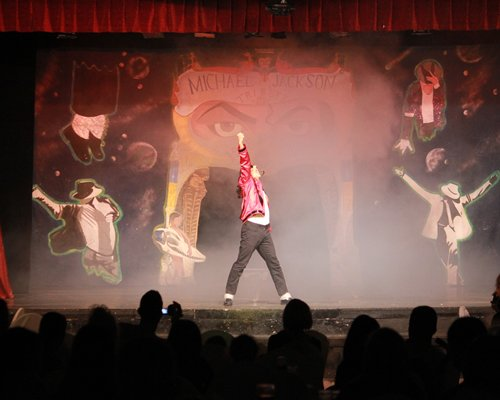 Outdoor thatched covered bar.
