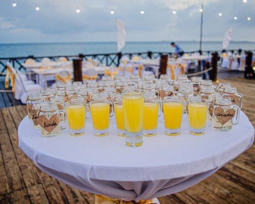 A view of water park of the resort.