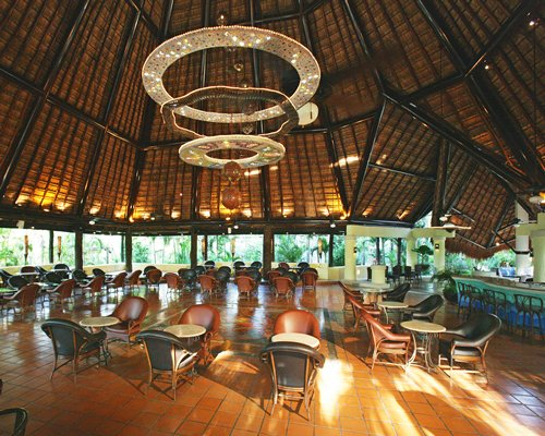 A fine dining area at the resort.