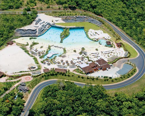 Arial view of the Rio Quente Vacation Villa resort.