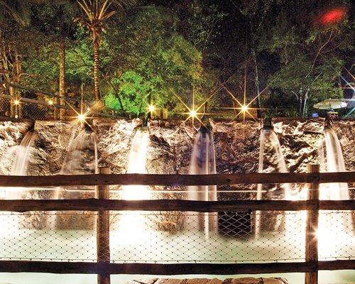 A cascade pool.