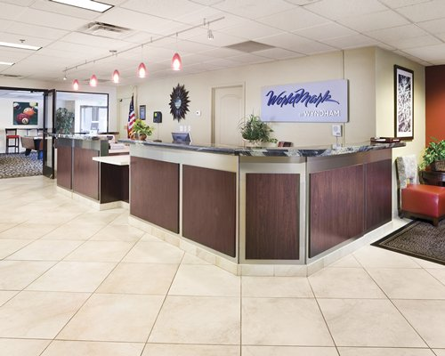 A well furnished reception area of WorldMark Reno resort.