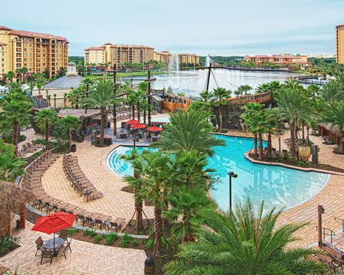 Wyndham Bonnet Creek Resort outdoor swimming pool.
