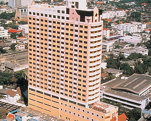 Exterior view of MTC Plus at Grand Tower Inn.