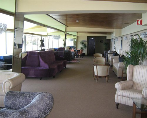 A well furnished lounge area of the Pestana Carlton Tower Suites resort.