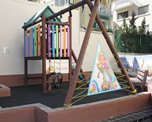 Kids play scape at Royal Atlantic.