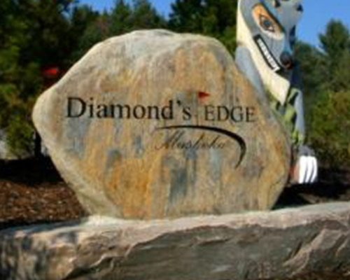 Signboard of Diamonds Edge.
