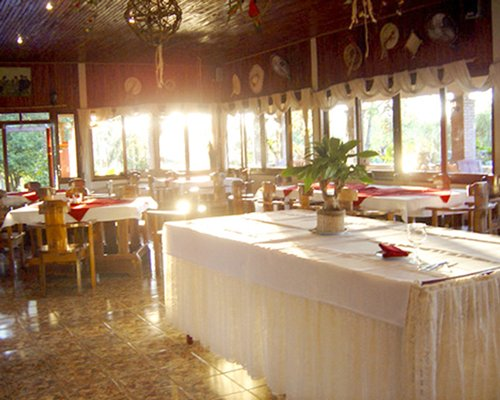 A restaurant at Paraiso Golf Resort & Spa.