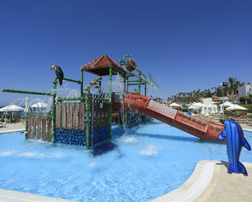 The water park at Aquasol Holiday Village & Water Park.