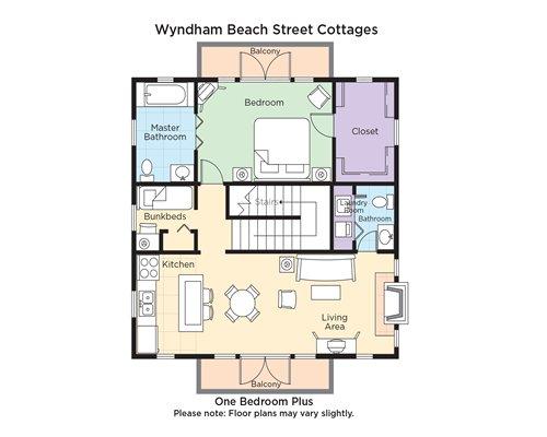 Wyndham Beach Street Cottages 7583 Details RCI