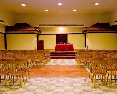 An indoor venue at Kairali Heritage.