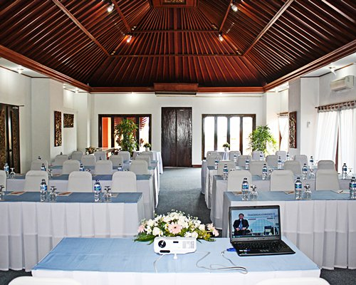 A conference room at Keraton Jimbaran Resort.
