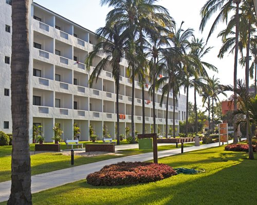 An exterior view of Marival Resort & Suites.