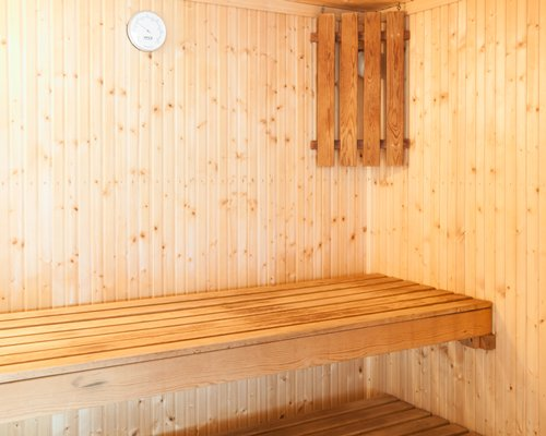 Sauna at Kingswear Park Club.