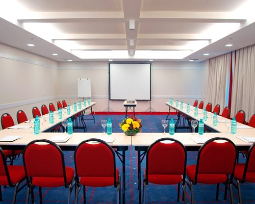 A conference room at the resort.
