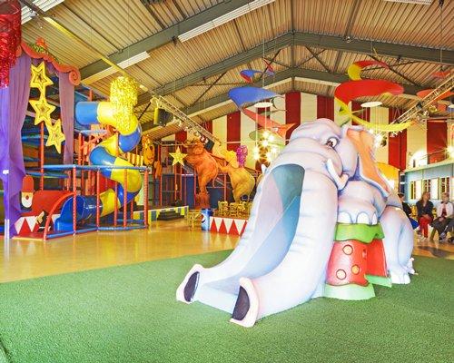 Indoor kids recreation room.