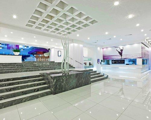 Reception and entrance at Krystal International Vacation Club.