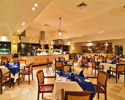 A restaurant at Club Melia At Melia Cozumel.