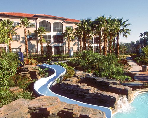 Scenic exterior view of the Holiday Inn Club Vacations At Orange Lake Resort.